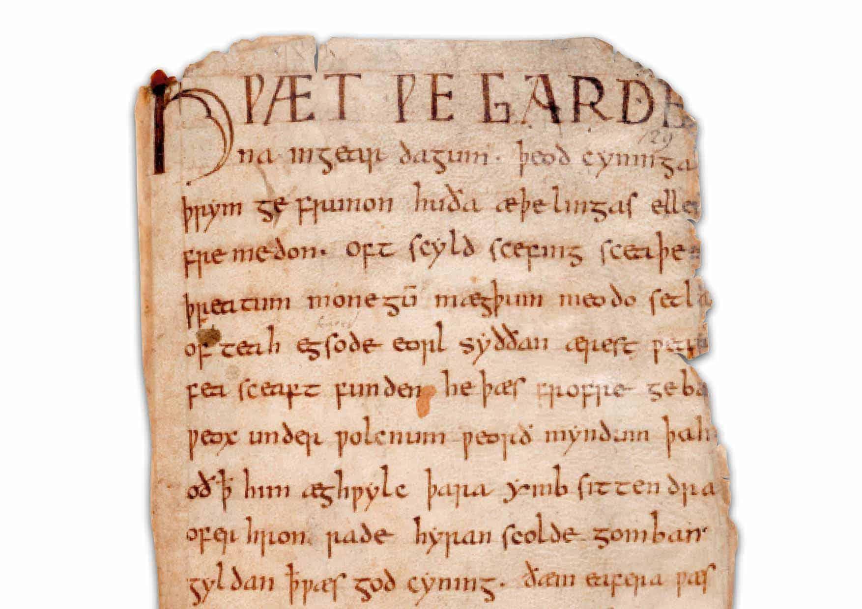 Beowulf-manuskript