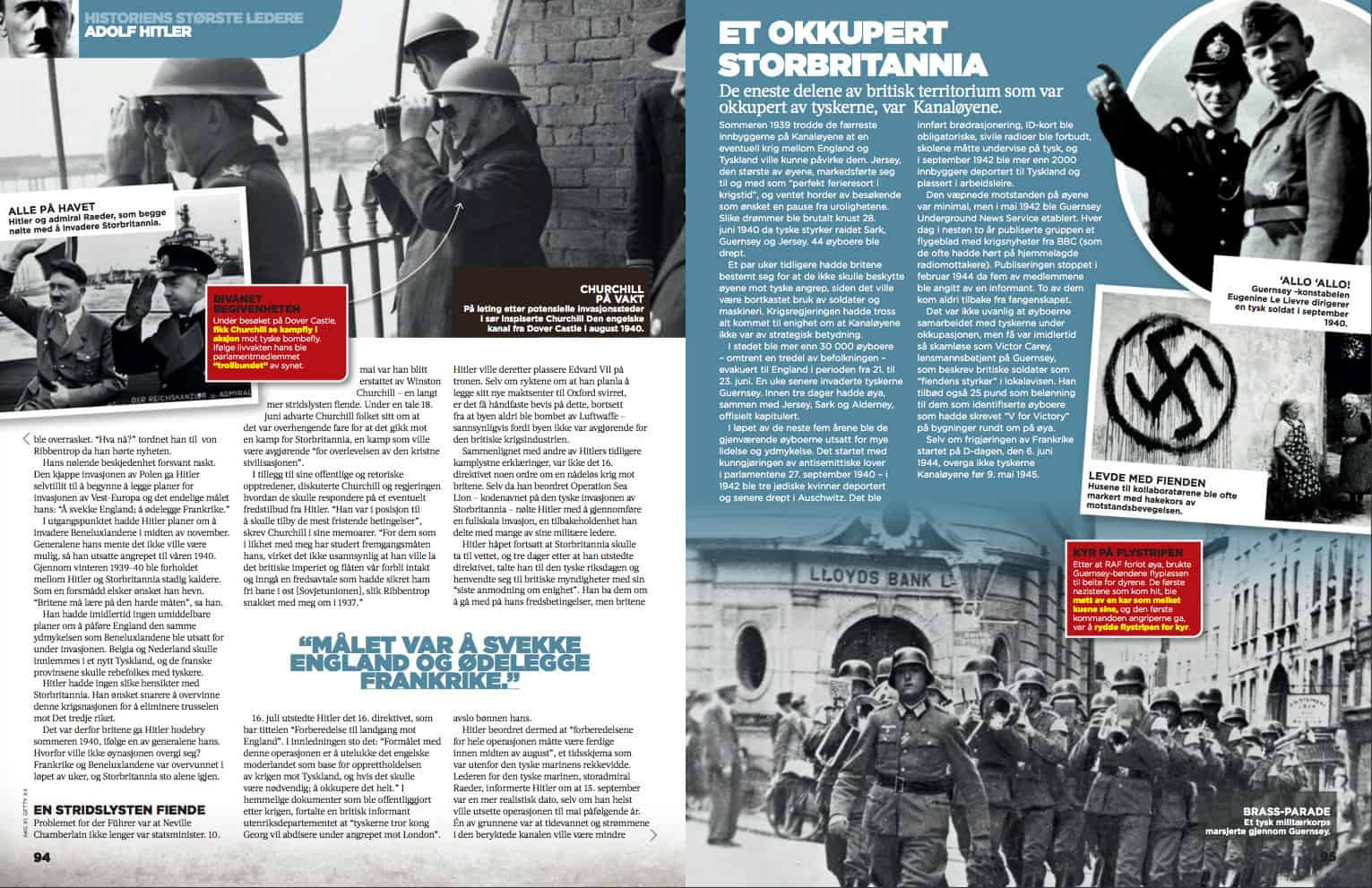 Hitler, oppslag