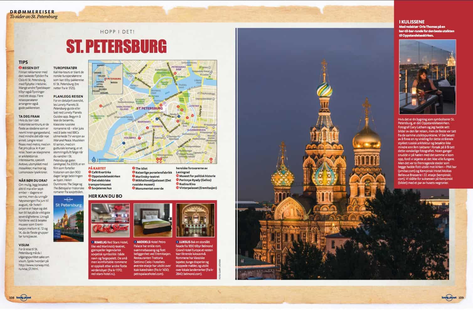 St. Petersburg, oppslag