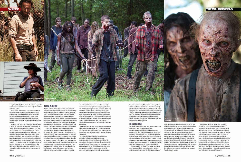 The Walking Dead, oppslag