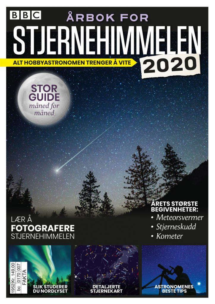 BBC Vitenskap: Årbok for stjernehimmelen 2020