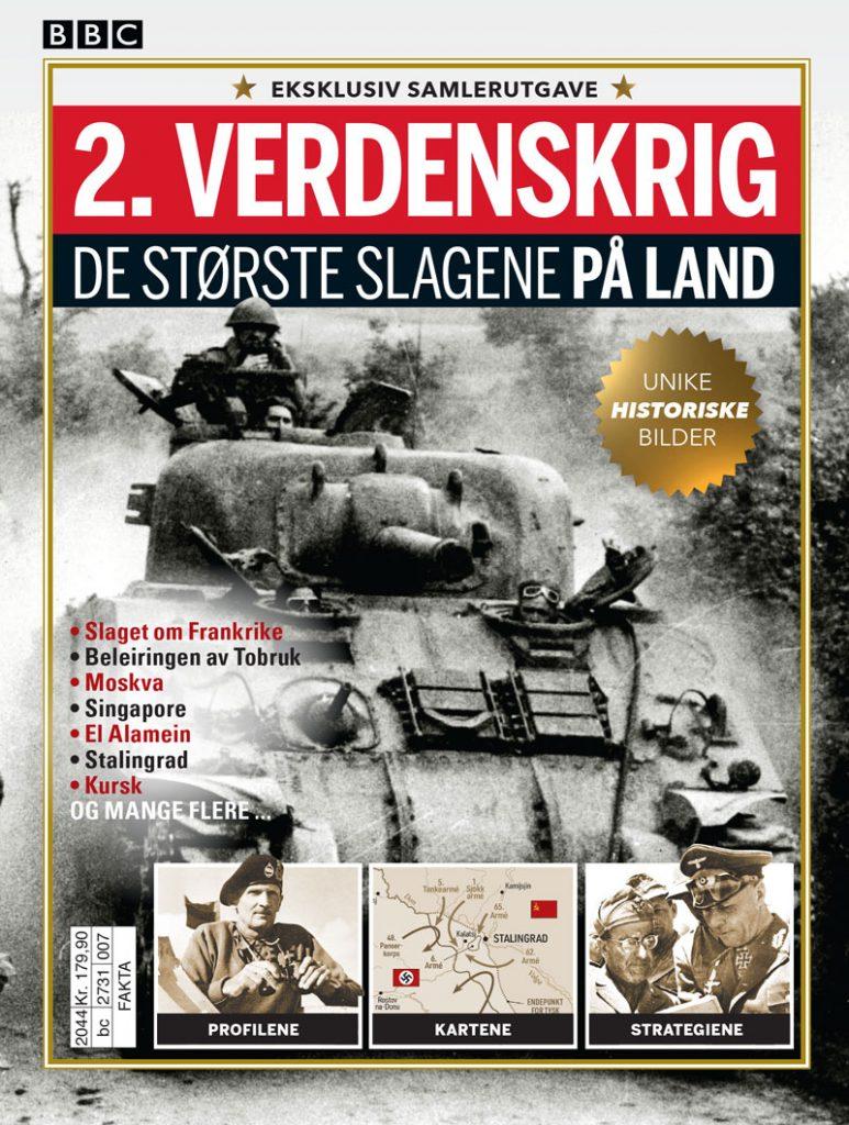 2. verdenskrig – De største slagene på land