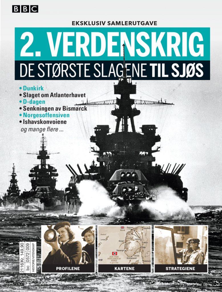 2. verdenskrig: De største slagene til sjøs